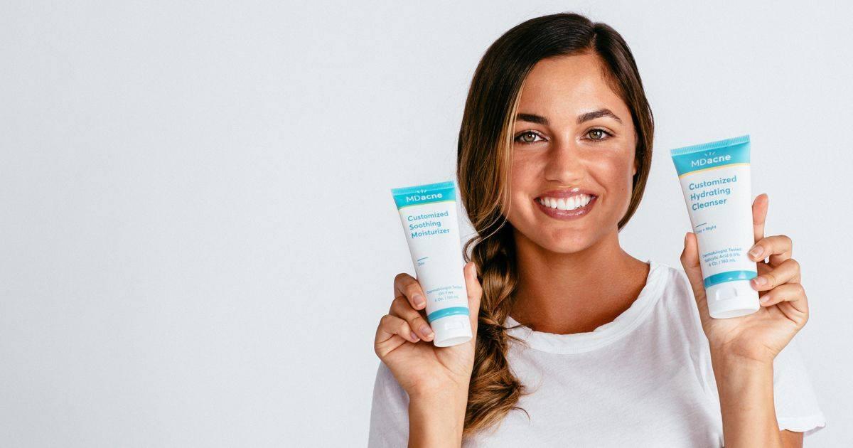 MDacne - Get Clear Skin with a Custom Acne Treatment